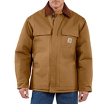 Carhartt Duck Traditional Coat/Arctic Quilt-Lined C003